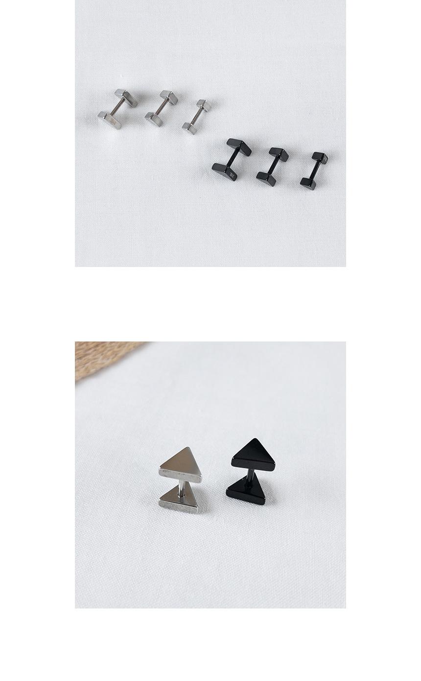 기본 트라이앵글 피어싱 - 데일리유니크, 2,900원, 실버, 이어커프/피어싱